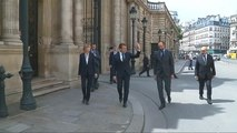La cote de popularité d'Emmanuel Macron et d'Edouard Philippe - Politique
