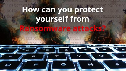 How can you protect yourself from ransomware