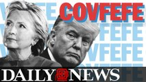 Hillary Clinton Tweets 'Covfefe' At The President Sparking A Twitter Clash With Trump Jr.