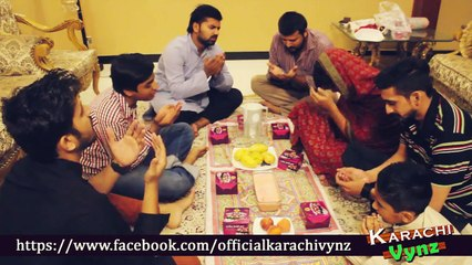 How To Do IFTAAR These Days - Karachi Vynz Official