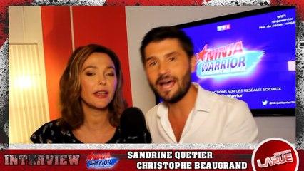 VIDÉO - Ninja Warrior 2 : Interview, sans filtre, de Sandrine Quétier et Christophe Beaugrand