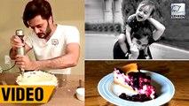 Riteish Deshmukh Bakes A Cake For Son Rahyl's First Birthday