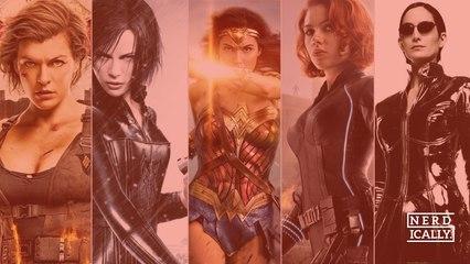 ¿Quién es tu guerrera superheroína preferida del cine?
