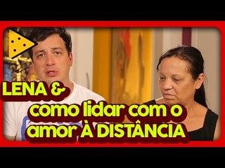 NAMORO VIRTUAL E CONFLITOS FAMILIARES | RAFA CORTEZ NO LOVE TRETA