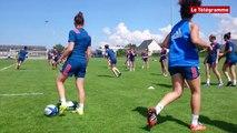Rugby. L'équipe de France féminine à l'entraînement à Ploufragan