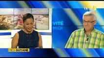 Reportage de ma nièce Alice pour Midi 1ère Guyane - Saint-Laurent, les collégiens sur les voies de l'ambition