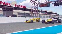 VÍDEO: Viaje al pasado: Hülkenberg prueba el Renault F1 de 1983