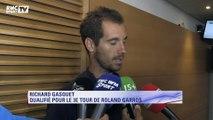 """Roland Garros – Gasquet : """"Contre Gaël Monfils, ce sera un grand match"""""""