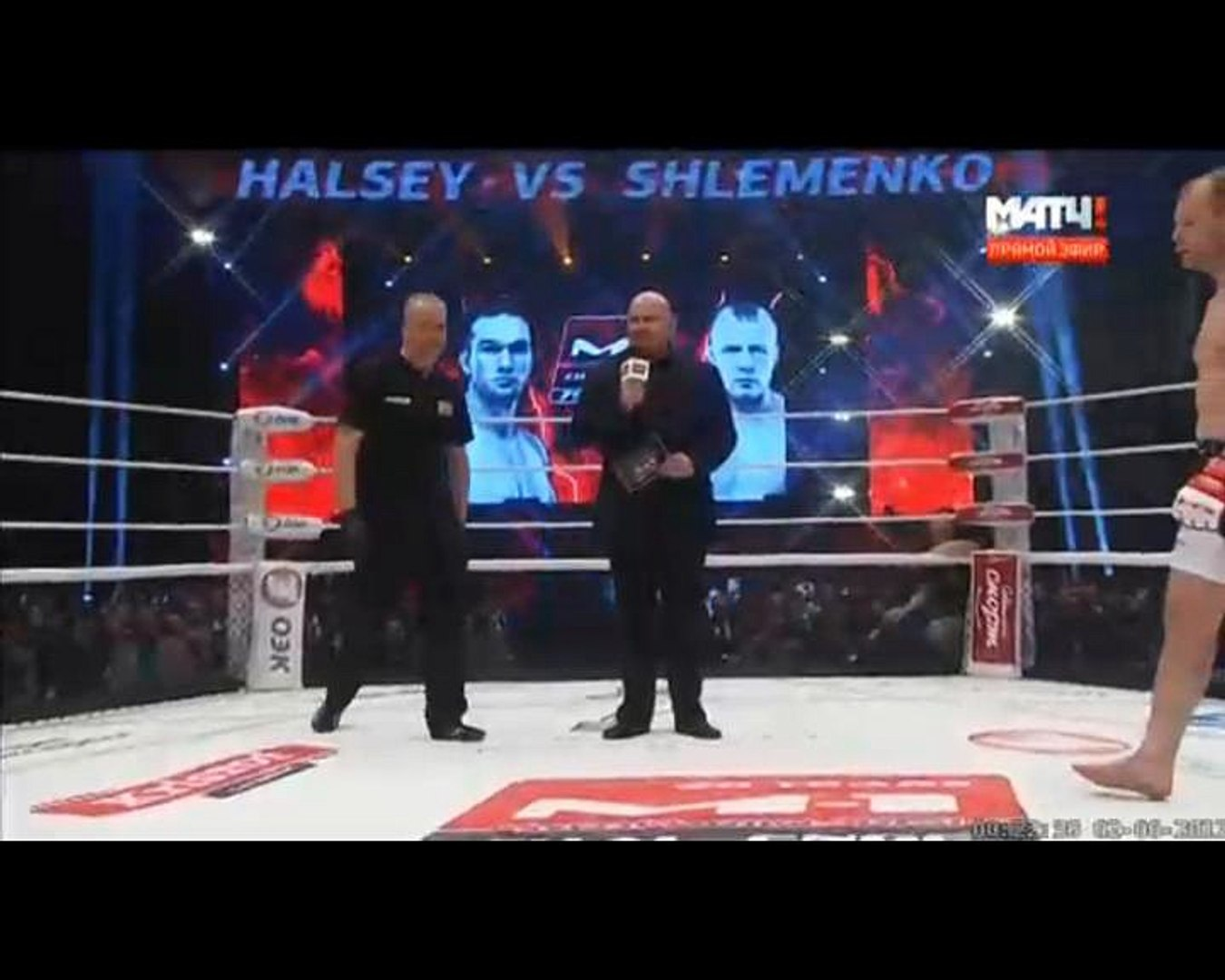 Alexander Shlemenko vs Brandon Halsey 2 - Full Fight / Александр Шлеменко - Брэндон Хэлси 2 - Полный