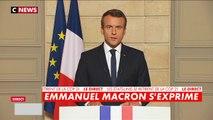 """Emmanuel Macron : """"Donald Trump commet une erreur, et une faute pour notre planète"""""""