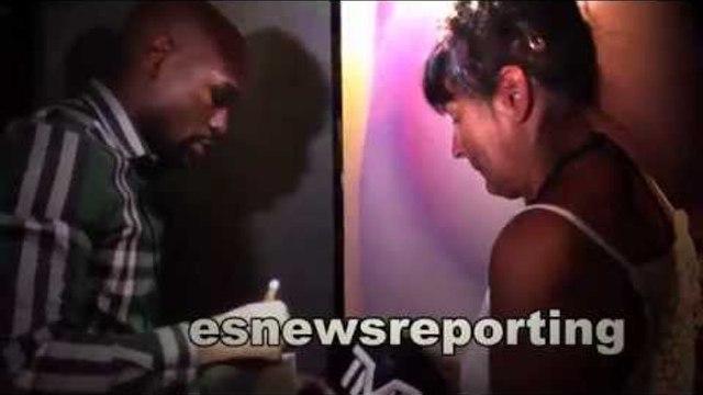 floyd mayweather uk fan tears of joy after meeting floyd - EsNews Boxing