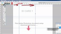 PVC Id Card Printing Page Layout (Template) for Epson L800 ...