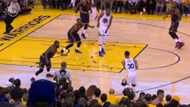 Steph Curry Doing Steph Curry Things - NBA Finals Game 1 - Cavaliers vs Warriors - June 01, 2017