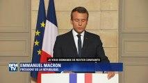 Accord de Paris: la riposte d'Emmanuel Macron en anglais