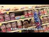 food shopping with brandon rios and pita garcia - EsNews boxing