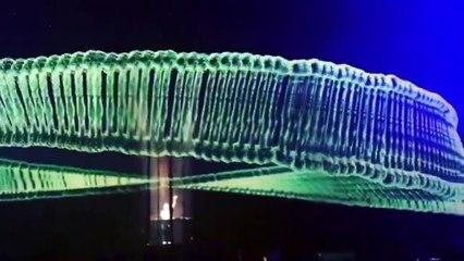 Les hologrammes du concert d'Eric Prydz à Londres