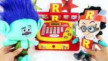 Trolls Branch Eating Md's Happy Meal with Poppy, PJ Ma