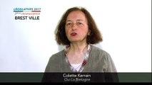 Législatives 2017. Colette Kerrain : 2e circonscription du Finistère (Brest)