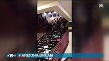 Incroyable scène dans un lycée en Arizona pour fêter la fin de l'année scolaire