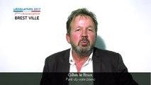 Législatives 2017. Gilles Le Roux : 2e circonscription du Finistère (Brest)