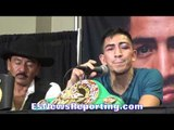 Leo Santa Cruz post abner Mares fight press conference -  EsNews boxing