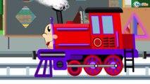 Trenes infantiles - Dibujos animados educativos - Episodios completos de 1 hora. Carritos Para Niños
