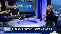 DAILY DOSE   Israeli musician strokes the keys for i24NEWS    Friday, June 2nd 2017