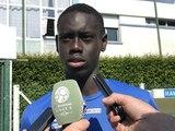 U19 / Avant Bordeaux - HAC en finale du championnat de France, ITV de Samba Diop