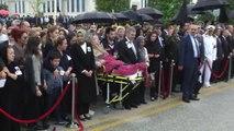 Şırnak Şehitlerimizi Uğurluyoruz - Şehit Albay Küçükdemirkol Için Cenaze Töreni Düzenlendi (2)