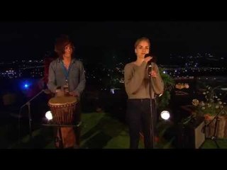 London Grammar - Darling Are You Gonna Leave Me [Live Acoustic Session at Glastonbury 2013]
