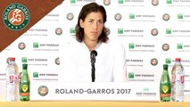 Roland-Garros 2017 : 3T conférence de presse Garbine Muguruza
