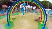 VLOG - JEUX D'EAU FUN à AQUA DINO - Parc de Jeux - Ile Des Loisirs Cap d'Agde