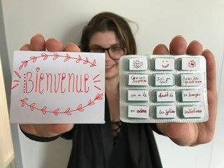 Fabriquer un cadeau de bienvenue à un stagiaire à partir d'une boite de chewing-gum