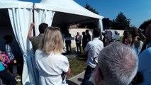 Inauguration voie verte arc en ciel Toulouse Colomiers Tournefeuille