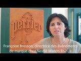 Françoise Bresson, directrice des événements de marque et du développement Durable de Nestlé Waters France