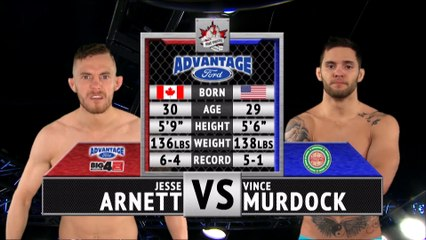 "Hard Knocks Fighting Championship Presents : Full Fight Friday: Jesse ""Big Cat"" Arnett vs. Vince Murdock"
