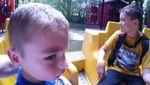 VLOG - Petites Frayeurs pour Swan au Parc d'Attractions WALIBI - 2_2 -