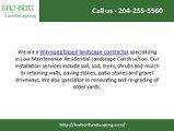 Landscaping Contractors Winnipeg - Kro-Bert Landscaping