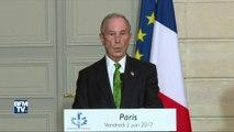 """Michael Bloomberg: """"Les États-Unis rempliront les engagements pris lors de l'accord de Paris"""""""