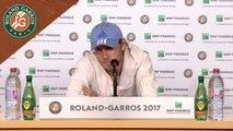 Roland Garros 2017 : 3T Conférence de presse Lucas Pouille