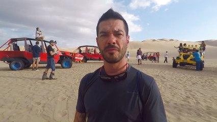 En mode Mad Max et surfeur du désert dans les dunes du Pérou !