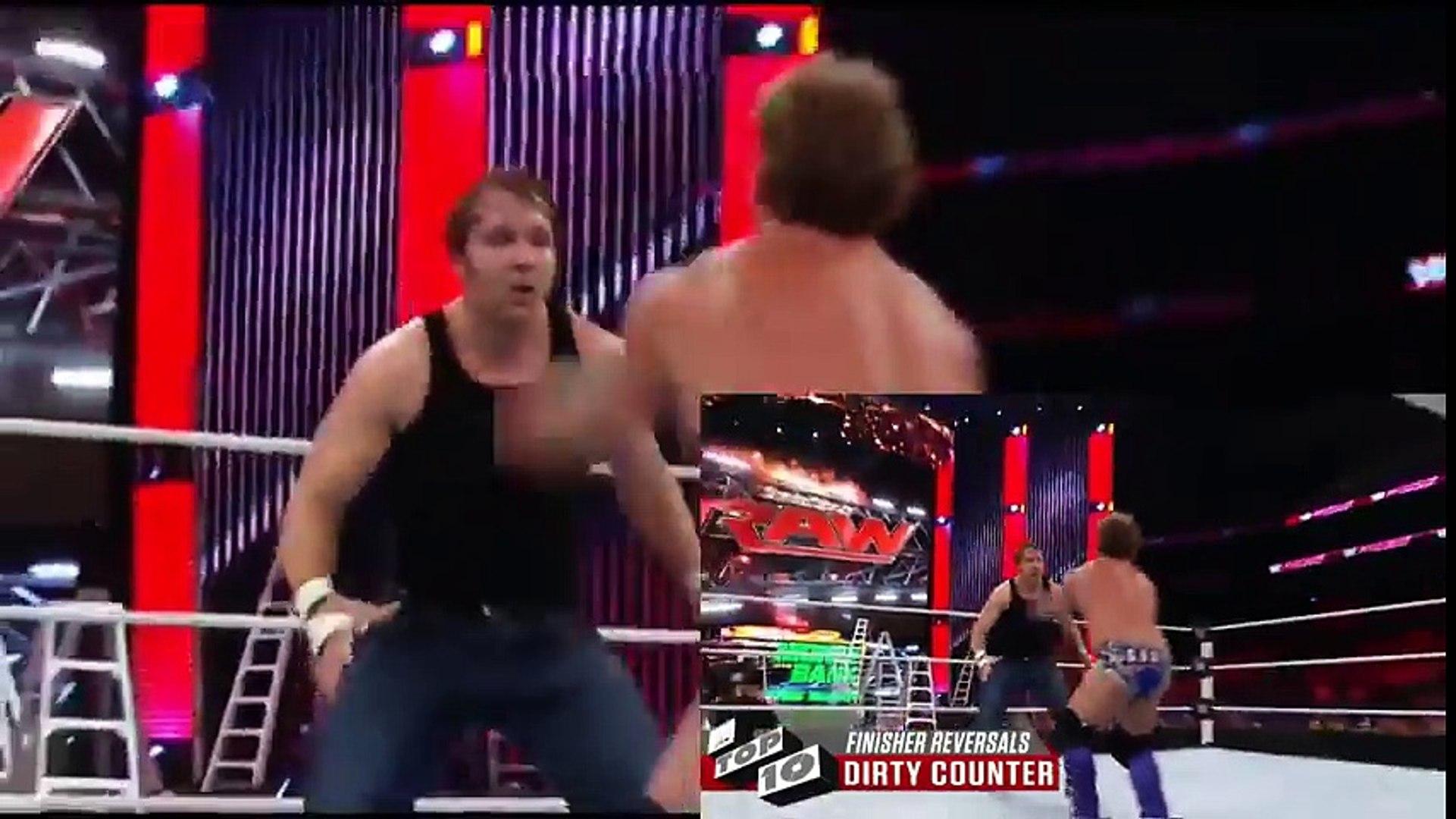 WWE TOP 10 Finisher Reversals WWE Videos WWE Top 10 Videos