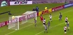 32.Independiente vs River Plate 2-1 - Goles y Resumén - Copa Libertadores 2017