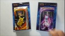 Ouverture Pikachu Puissance et Mêlée Mewtwo - Evolutions - Pokémon TCG