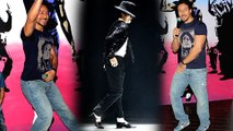Tiger Shroff Does A Michael Jackson Moon Walk At Munna Michael Poster Launch Event