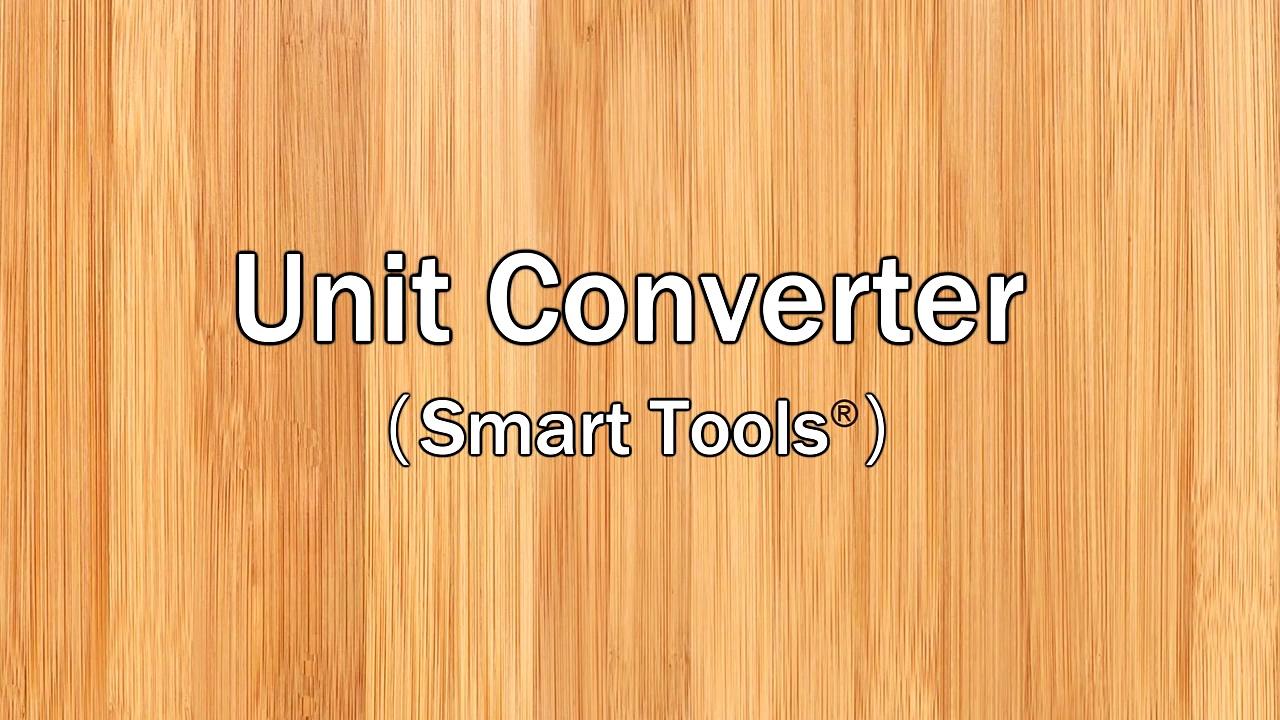 Unit Converter Tools)