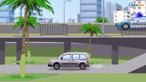 Police Car Emergency Vehicles Race Real New Cars for Kids | Cars & Trucks Children Video