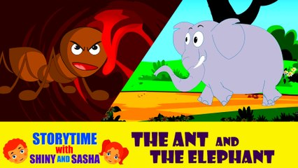 The Ant and the Elephant   Moral Kids Story   Short Stories for Kids   Koo Koo Tv