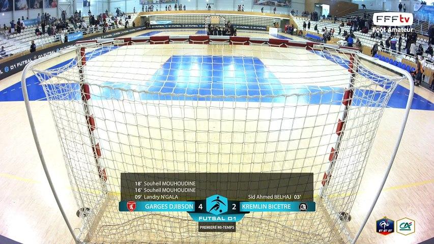 Samedi 03/06/2017 à 13h45 - Finale D1 Futsal : Kremlin Bicêtre Futsal - Garges Djibson Futsal (2)