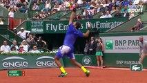 Roland-Garros 2017 : Le lob parfait d'Andy Murray (4-5)
